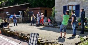 Jeux de boules La Tourelle Colombotte Frankrijk