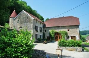 Chambres d'hôtes Frankrijk La Tourelle in Colombotte