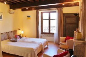 kamer op La Tourelle Colombotte